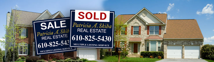 Gorgeous homes and Patricia A. Skiba SOLD signs